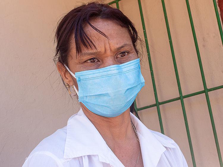 La doctora Olga Lidia Pérez Álvarez, subdirectora de Asistencia Médica del hospital pediátrico Pepe Portilla agradeció el gesto y la colaboración de la Anap y otros sectores.