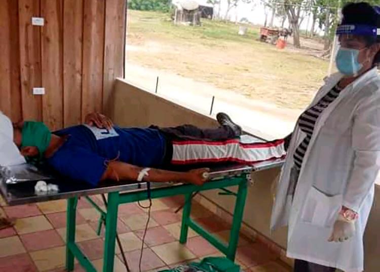 Las 60 donaciones destinadas al Banco de Sangre del municipio son parte de una iniciativa que se incluye entre las actividades por el aniversario 60 de la ANAP / Foto: cortesía de la ANAP