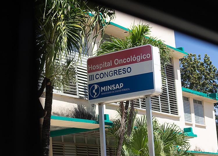 Centro de atención al paciente oncológico III Congreso  en Pinar del Río. / Foto: Jaliosky Ajete Rabeiro