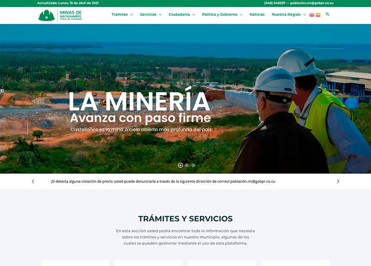 Portal del ciudadano de Minas de Matahambre