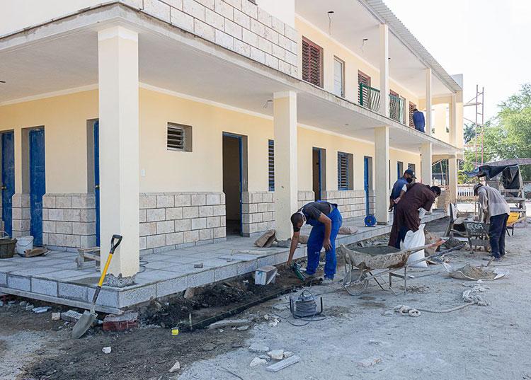La sede de la Empresa de Tabaco del municipio cabecera muestra renovación en la mayoría de sus locales. / Foto: Jaliosky Ajete Rabeiro