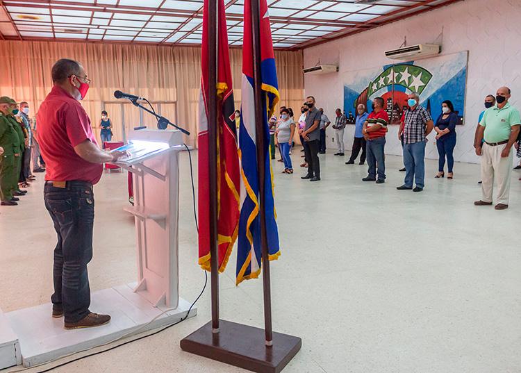 Homenaje a trabajadores y cuadros del Partido en Pinar del Río
