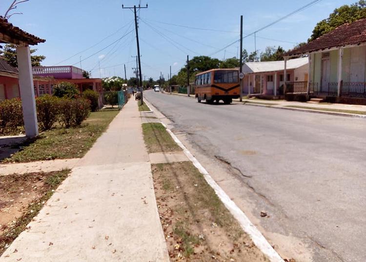 Continúa el poblado de Manuel Lazo del municipio Sandino con el cumplimiento de las medidas higiénicos sanitaria