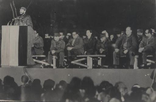 Pronuncia Fidel discurso en la inauguración de las obras de San Andrés de Caiguanabo.