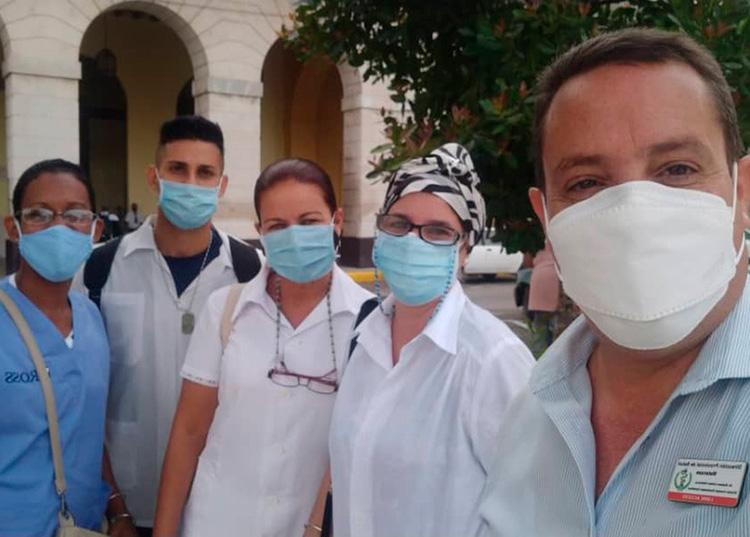 Un doctor oriundo de Pinar del Río enfrenta al coronavirus en Matanzas