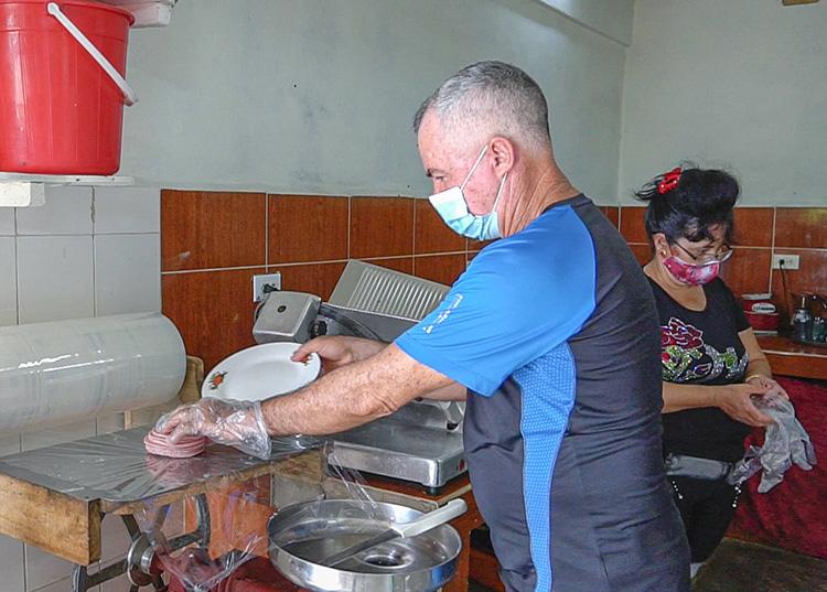José Ramón es parte activa del colectivo de principio a fin de cada jornada / Foto: Pedro Lázaro Rodríguez Gil