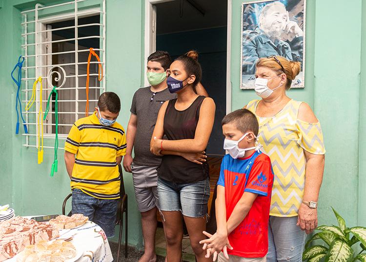 Honor a la infancia en Pinar del Río