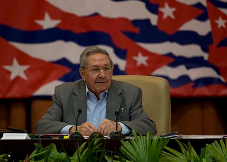 Raúl Castro en palacio de convenciones. Foto: Ismael Francisco/ Cubadebate.