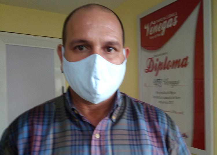 Jorge Luis Díaz Acosta, jefe de mantenimiento y energía