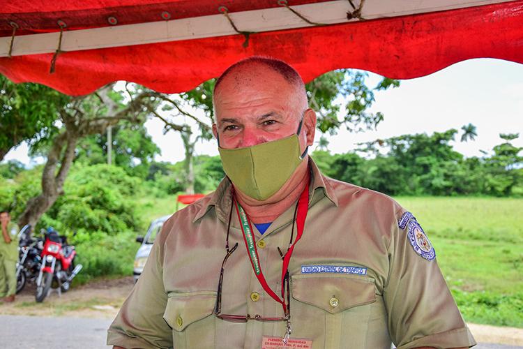 Carlos Rodríguez González, director de la Unidad Estatal de Tráfico en Pinar del Río, enfatiza en la necesidad de reforzar el punto en horario nocturno.