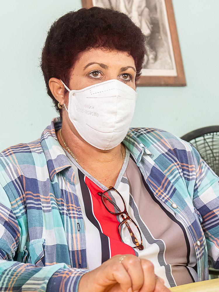 Belkys Pérez Díaz, directora de Cubaquivir, asegura que además de los resultados productivos, el buen funcionamiento del sistema de trabajo de la Empresa contribuyó a ganar la sede