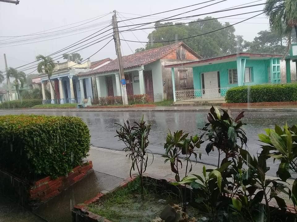 Una tarde de lluvia en Guane