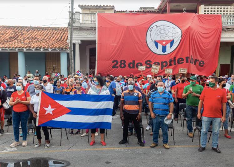 En Pinar del Río apoyo total a la Revolución Cubana
