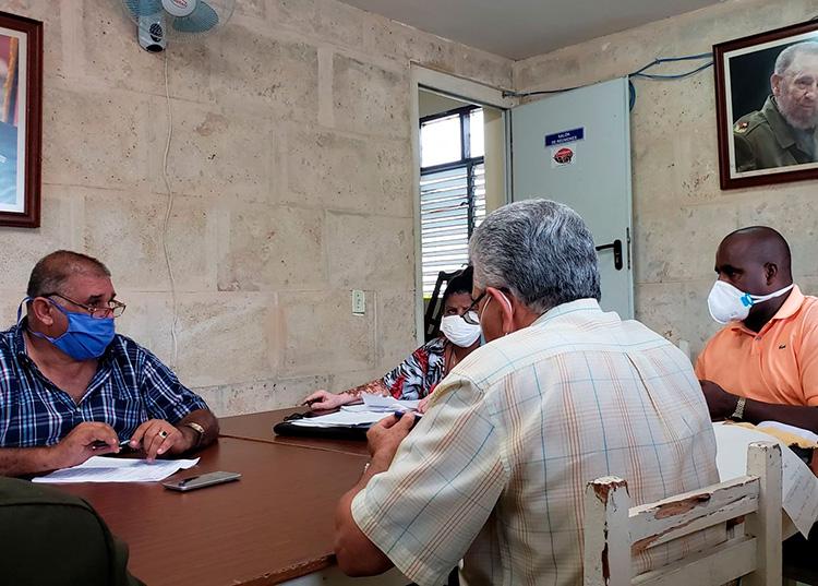 Grupo temporal de trabajo para el enfrentamiento a la COVID-19 en Consolación del Sur
