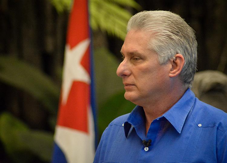 Primer Secretario del Comité Central del Partido Comunista de Cuba y Presidente de la República, Miguel Díaz-Canel Bermúdez / Foto: Estudios Revolución.