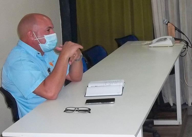 MSc. Yosvani Torres Hernández, Director General de la Empresa Eléctrica en Pinar del Río. / Foto: Radio Guamá