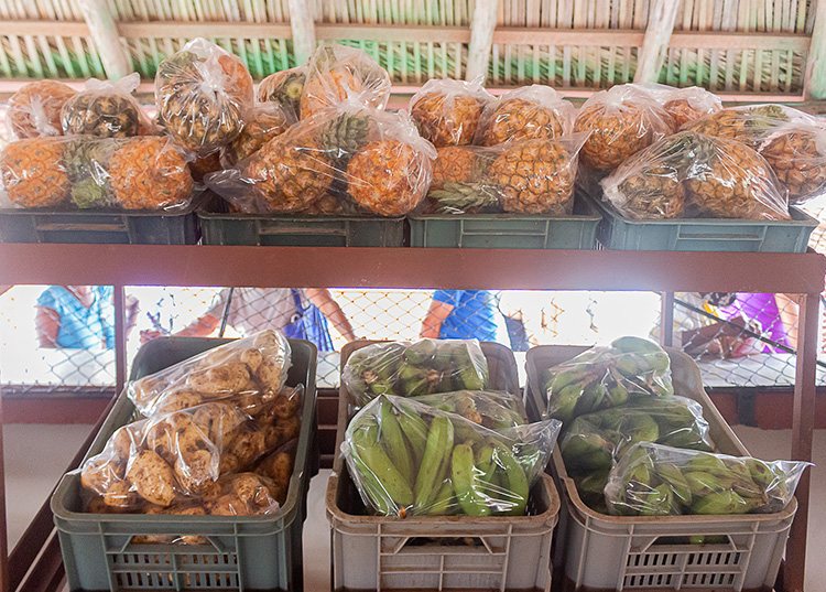 Algunos de los productos ofertados por los mercados