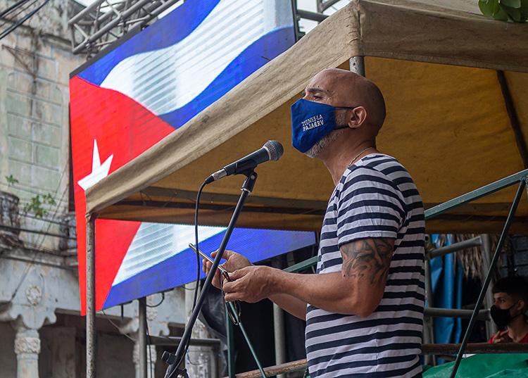 El presidente del Comité Provincial de la Uneac, Nelson Simón. / Foto: Jaliosky Ajete