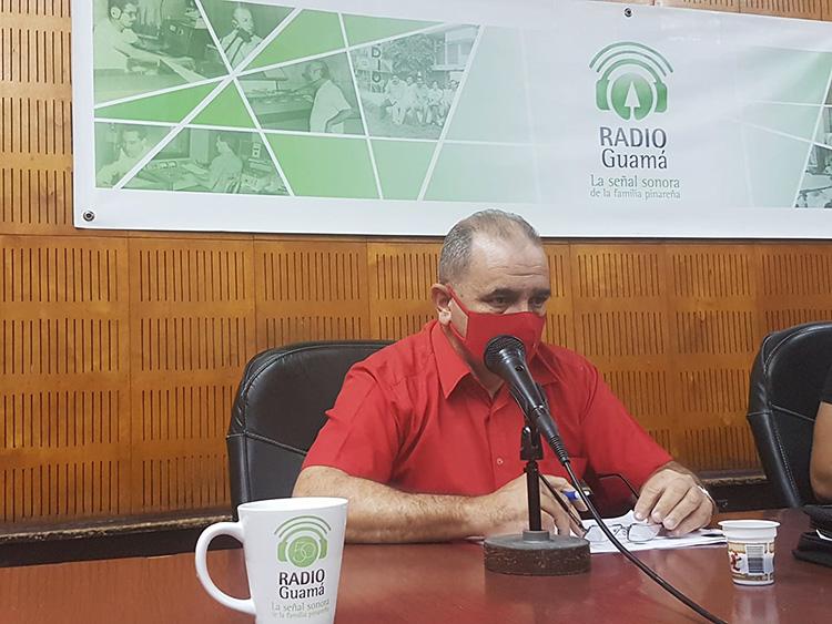 Julio César Rodríguez Pimentel, Primer Secretario del Partido Comunista de Cuba en la provincia. / Foto: Dunia Chinea.