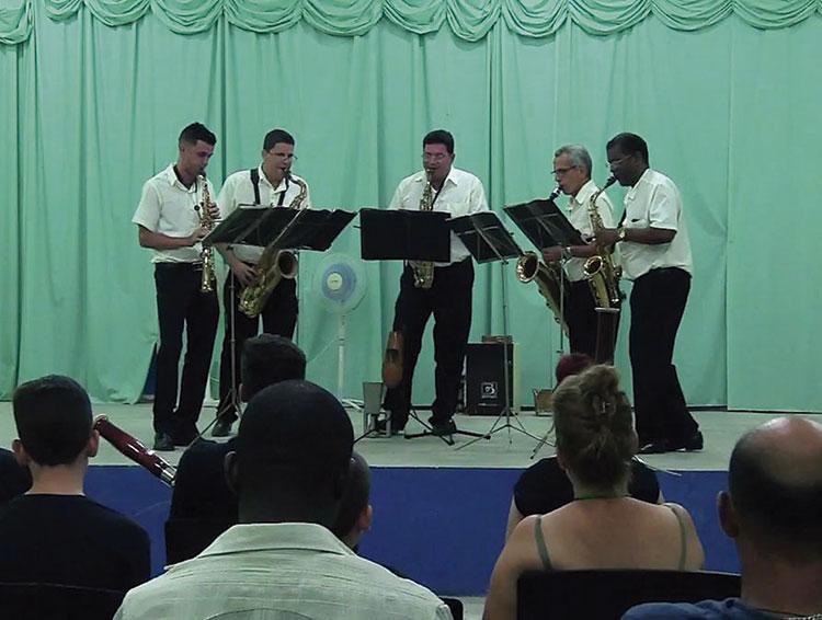 Arsis grupo de saxofones 1