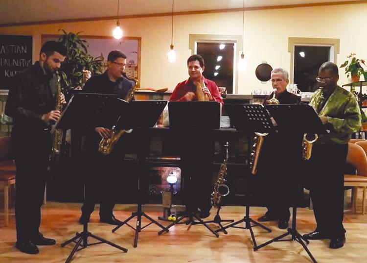 Arsis grupo de saxofones 2
