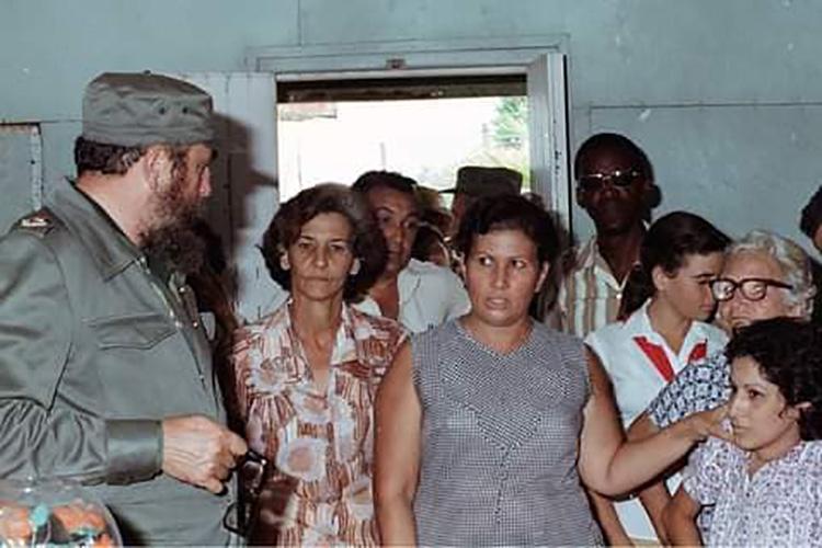 Fidel Castro siempre presente ante el paso de los ciclones