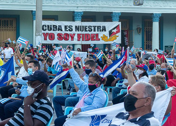 Conmemoraron en Pinar del Río victoria popular del cinco de agosto del 1994