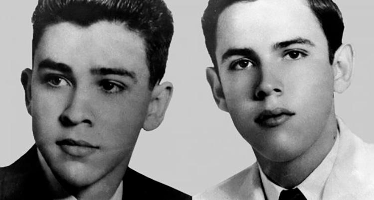 Los hermanos Luis y Sergio Saíz Montes de Oca
