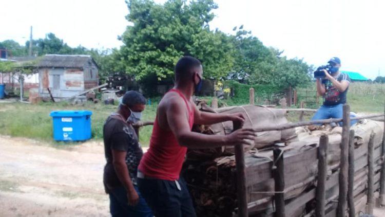 trabajadores de la UEB de Las Ovas 4