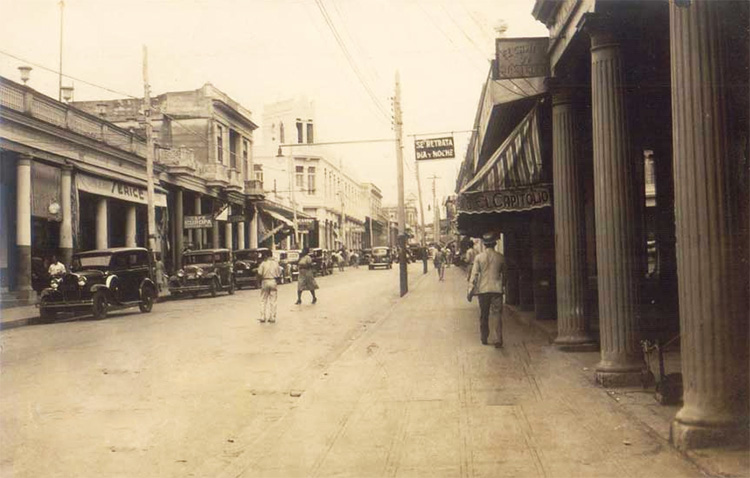 Otra vista de la calle Martí. (1925-1942)