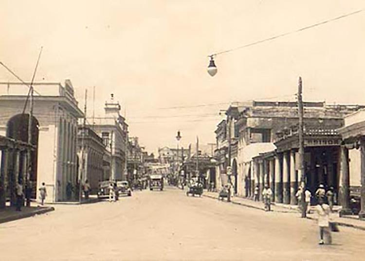 Vista de la calle Martí (1930-1950)
