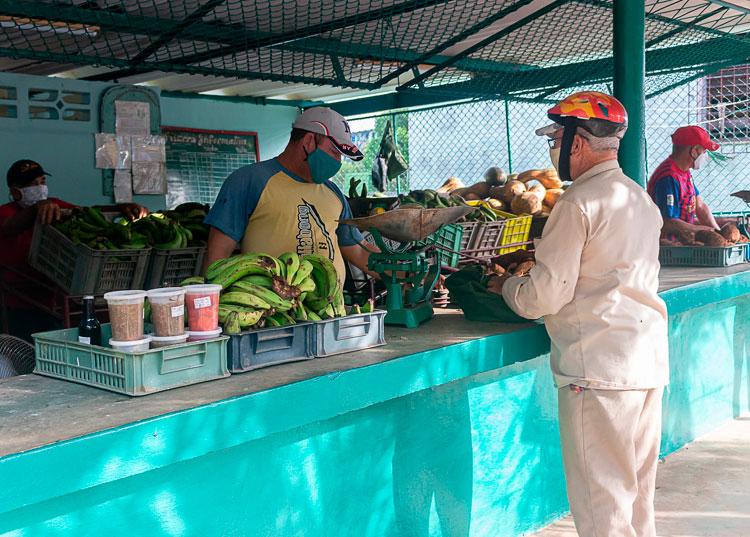 El mercado ubicado en calle Quinta final del reparto Hermanos Cruz fue arrendado por la empresa agropecuaria Cubaquivir.