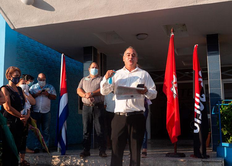 Manuel Milián Villar, director territorial de Etecsa.